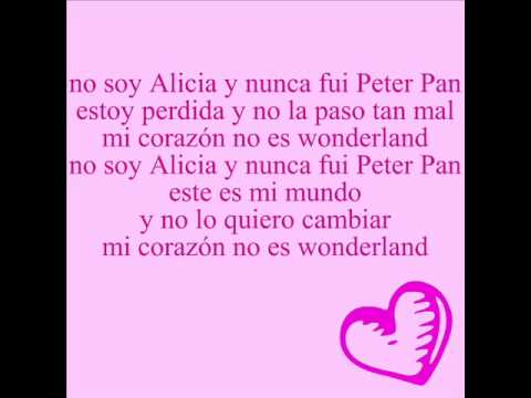 mis xv wonderland -