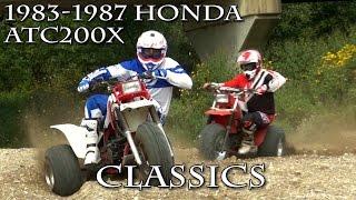 Video 1983 1987 Honda ATC200X Classics Test MP3, 3GP, MP4, WEBM, AVI, FLV Agustus 2017