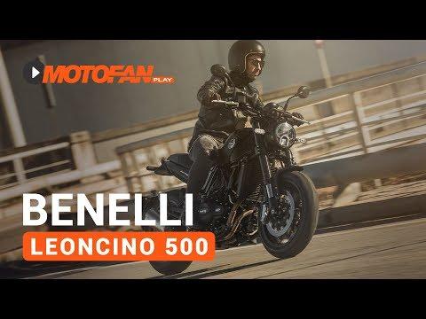 Vídeos de la Benelli Leoncino 500 de 2017