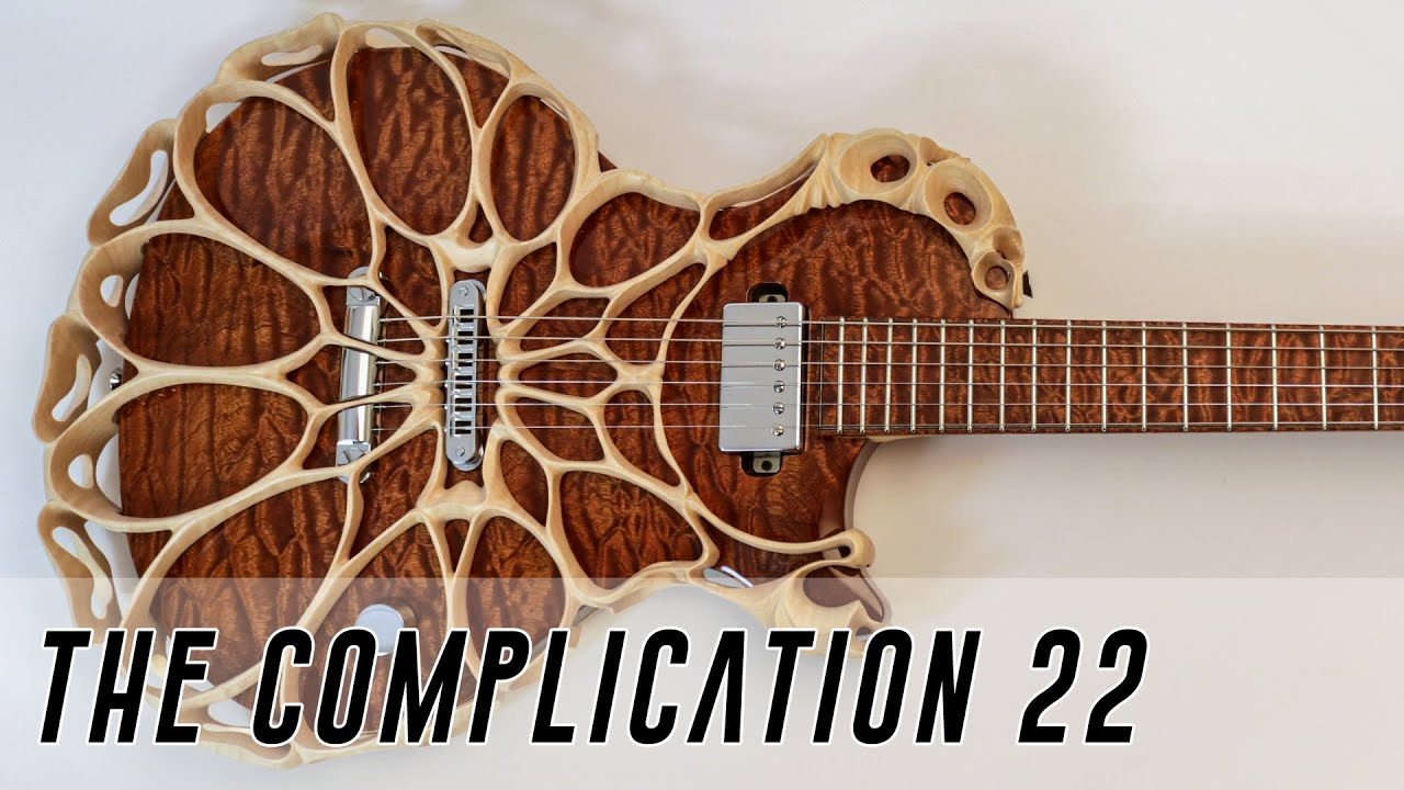 The Complication Completion 22 – the Most Complex electric Guitar Ever?
