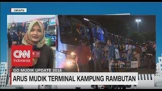 Video H-4 Lebaran, Pemudik di Terminal Kampung Rambutan Terus Meningkat  - Go Mudik 2018 | 07.00 MP3, 3GP, MP4, WEBM, AVI, FLV Juni 2018