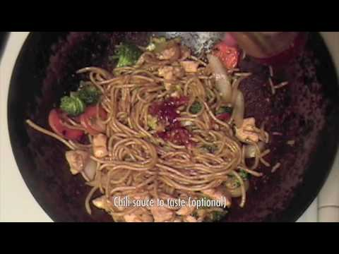 Chicken Lo Mein Recipe - Chinese Food