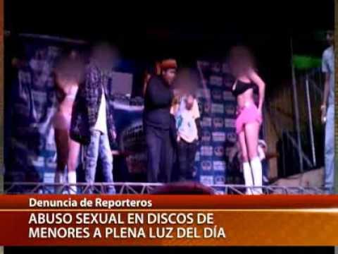 abuso sexual de menores -