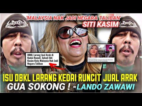 DBKL LARANG JUAL ARAK : Siti Kasim cakap Malaysia nk jadi negara TALIBAN. Lando panas !