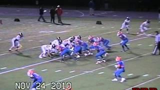 Austin Calitro #35 LB/RB Danbury High School Class of 2012 Highlights