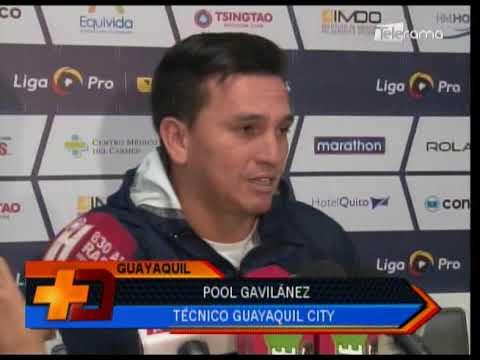 Michael Hoyos es baja por suspensión en Guayaquil City para juego con Emelec