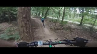 Zeist Netherlands  city pictures gallery : MTB Holland - Route Zeist (new trail) Long impression. Awesome trail! (Gopro Hero + Chesty) HD
