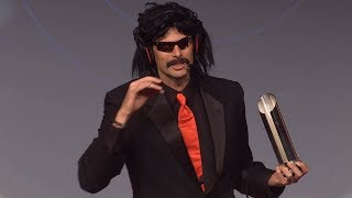 Video DrDisRespect's Speech for Winning Streamer of the Year 2017! MP3, 3GP, MP4, WEBM, AVI, FLV Juni 2018