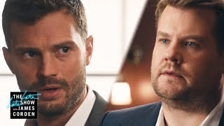 Video Fifty Shades of Corden w/ Jamie Dornan MP3, 3GP, MP4, WEBM, AVI, FLV Juni 2018