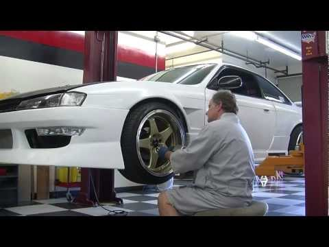 Nissan 240 SX Disc Brake Install
