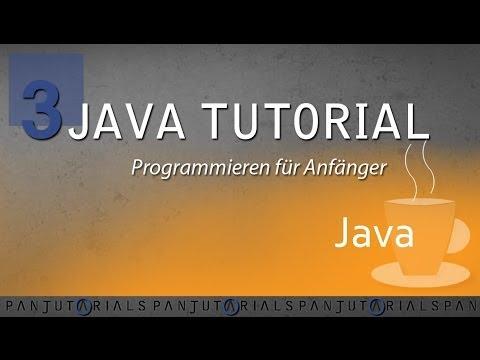 Java Tutorial Programmieren für Anfänger 3 — Strings und Typecasting