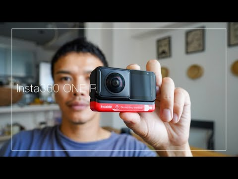 初めての360°アクションカメラ!Leica 1インチ Insta360 ONE R видео