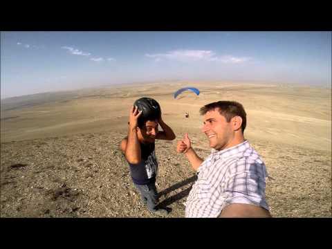 First Para-Paragliding in Azerbaijan