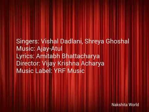 Suraiyya | Thugs Of Hindostan | Lyrics | Vishal Dadlani | Shreya Ghosal | Nakshita World