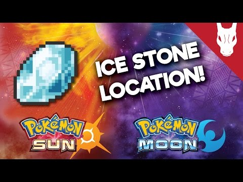 Where to Find the Ice Stone in Pokemon Sun and Moon