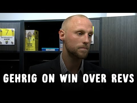 Video: Eric Gehrig on Win Over Revolution