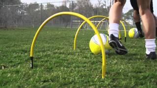 Stâlpi pentru fotbal SKLZ Pro Training Arcs NSK000074