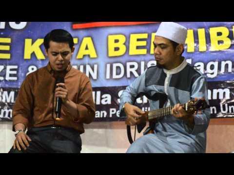 Sham Kamikaze & Amin Idris: persembahan lagu seroja : liga ilmu al