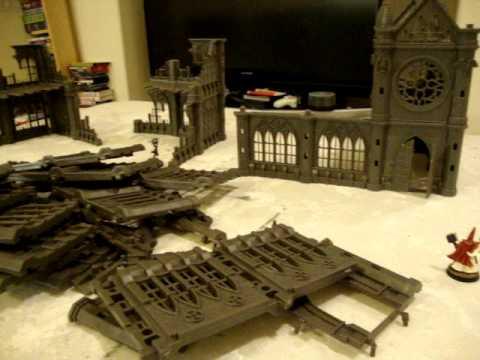 Pegasus Hobbies Gothic City Buildings Large Set