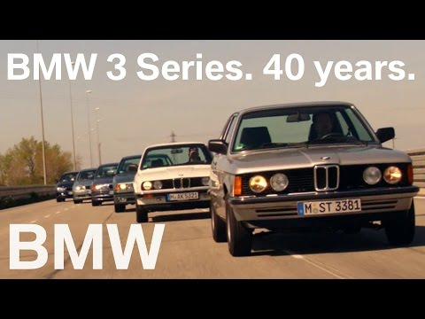 Celebrating the 40th Anniversary of the BMW 3