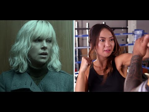 Atomic Blonde: VIP host Brigette Truong learns to fight like Charlize Theron