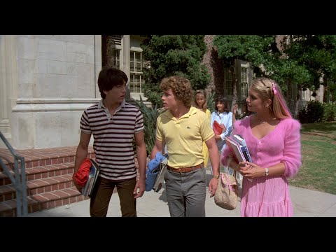 """Young Heather Thomas in Revealing Pink Outfits from """"Zapped"""" 1080P BD"""