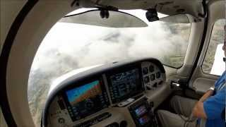 GoPro [HD] W/ ATC | IFR Flight In IMC | Cirrus SR20 | Instrument Training 3