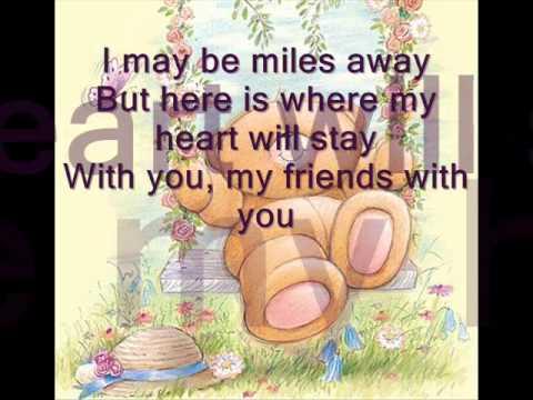 Farewell to You My Friends by  Raymond Lauchengco w/ lyrics .wmv