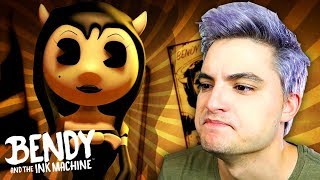 A NAMORADA DO BENDY - BENDY AND THE INK MACHINE CAPITULO 3