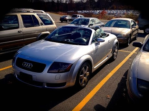 2001 Audi TT 1.8T Start Up, Quick Tour, & Rev With Exhaust View – 55K