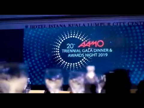 AAMO Triennial Gala Dinner & Awards Night 2019