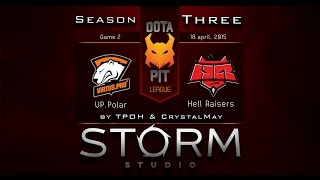 Virtus.Pro vs HR, game 2