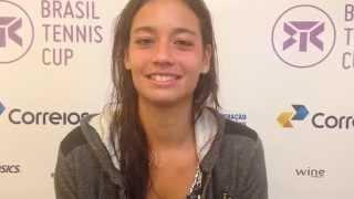 Fome ajudou Alizé Lim a vencer estreia no Brasil Tennis Cup
