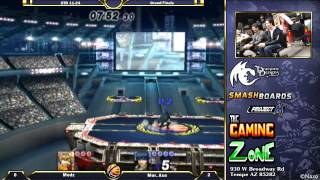 A very disgusting Grand Finals set – Axe (Marth) vs Medz (Fox)