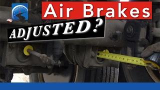 Video How to Determine Air Brake Adjustment—Applied—Pry Bar—Mark & Measure MP3, 3GP, MP4, WEBM, AVI, FLV Juni 2019