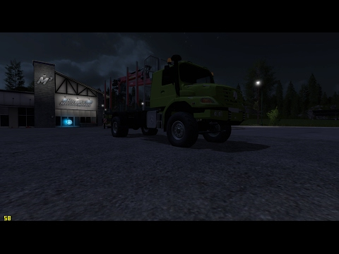 Mercedes Benz Zetros Timber v2.0