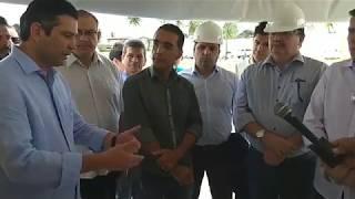 Prefeito Pedoca Jatobá, vereadores e secretariado recepcionam Ministro Maurício Quintela
