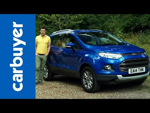Ford EcoSport SUV 2014 review – Carbuyer