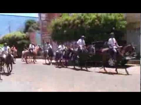Cavalgada da Paz em Espinosa MG.