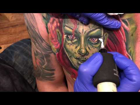 poison ivy tattoo gone dead!