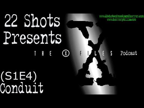 """S1E4 """"Conduit""""   The X-Files Podcast"""