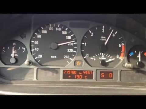 BMW E46 330d 0-200 km/h 204 PS M57TUD30