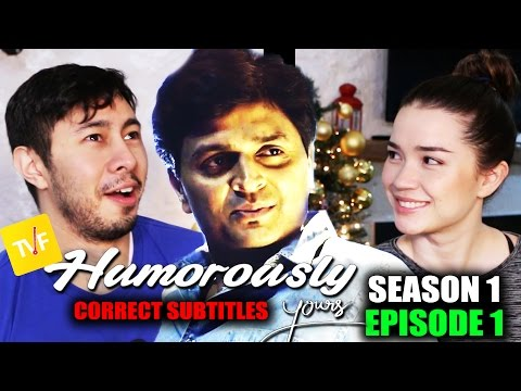 Download TVF HUMOROUSLY YOURS s1e1 | Reaction | CORRECT Subtitles HD Mp4 3GP Video and MP3