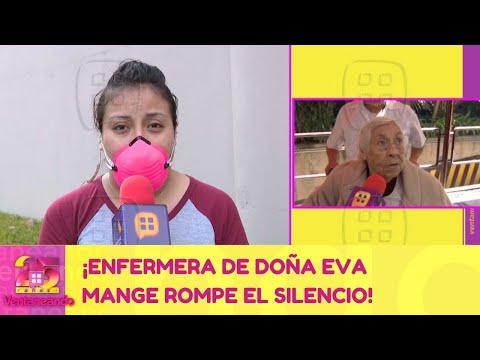 ¡Enfermera de Doña Eva Mange rompe el silencio! | 29 de enero 2021 | Ventaneando