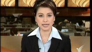 22APR10 Thailand - Hot News At 10 pm. Part 1 - TV Thai - The Silom Road's Residents Which To Resist