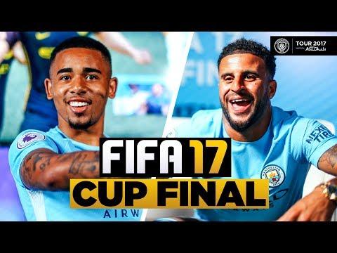 Video: Man City FIFA 17 Cup Final Highlights | ft Fangs, Gabriel Jesus & Kyle Walker