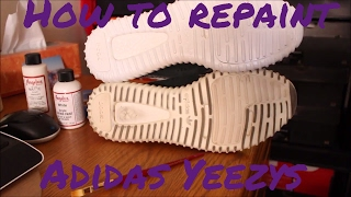 Today Teej will be showing you how to repaint the mid soles of a Adidas Yeezy! The items used in this tutorial are Crep Protect sneaker cleaning kit, Angelus Direct White Acrylic Paint and Matte Finisher. Crep Protect- https://www.amazon.com/Art-Crep-Protect-Cure-Travel/dp/B0193QJQCY/ref=cts_sh_2_vtp?pf_rd_m=ATVPDKIKX0DER&pf_rd_p=2601945442&pf_rd_r=74Y7V03K54VWY8DF1ASD&pd_rd_wg=g5mgf&pf_rd_s=desktop-detail-softlines&pf_rd_t=40701&pd_rd_i=B0193QJQCY&pd_rd_w=hE2z9&pf_rd_i=desktop-detail-softlines&pd_rd_r=74Y7V03K54VWY8DF1ASD&_encoding=UTF8Angelus Paint- https://angelusdirect.com/collections/paintThanks for watching! Please like, comment, and subscribe for more content every THURSDAY!