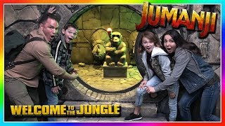 TRAPPED IN A JUMANJI ESCAPE ROOM! | We Are The Davises