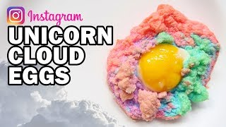 DIY Unicorn Cloud Eggs - Man Vs Instagram #3 by ThreadBanger