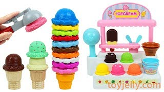 Video Ice Cream Cart Playset Fruits Strawberry Orange Apple Fridge Toy Kinder Joy Surprise Eggs for Baby MP3, 3GP, MP4, WEBM, AVI, FLV Juli 2018